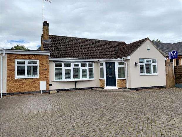 3 Bedrooms Bungalow for sale in Ashfield Road, Kenilworth, Warwickshire