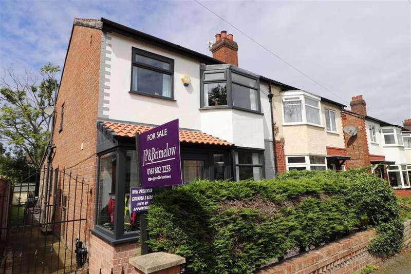 3 Bedrooms Semi Detached House for sale in Bentley Road, Chorlton, Manchester, M21