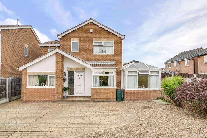 4 Bedrooms Detached House for sale in Belford Close, Bramley