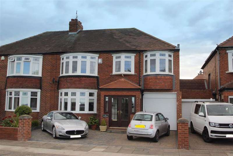 5 Bedrooms Semi Detached House for sale in The Broadway, Cullercoats, NE30