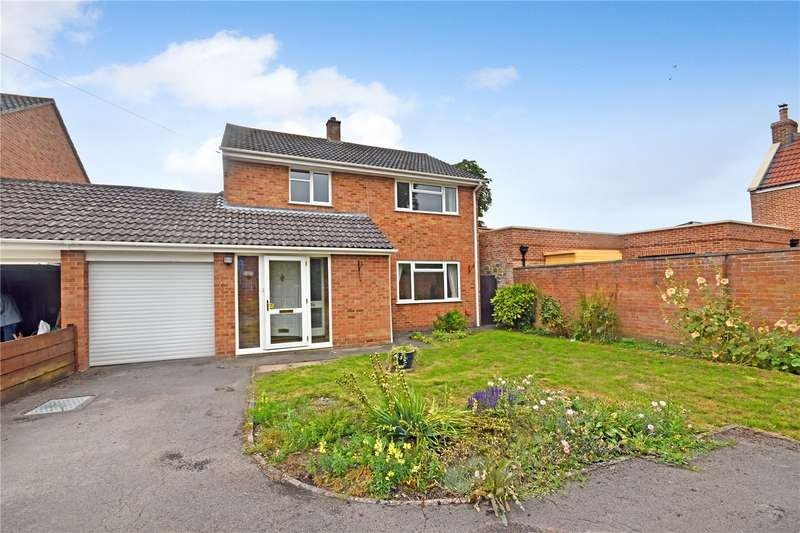 4 Bedrooms Detached House for sale in Church Road, East Huntspill, Highbridge, Somerset, TA9