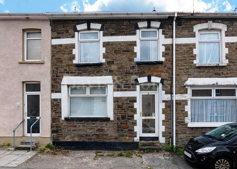 2 Bedrooms Terraced House for sale in High Street, Cross Keys, Newport. NP11