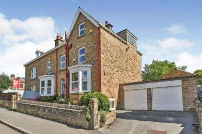 5 Bedrooms Semi Detached House for sale in Sterndale Road, Sheffield, South Yorkshire