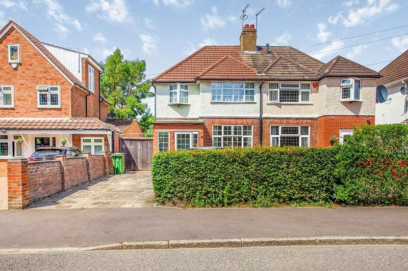 3 Bedrooms Semi Detached House for sale in Minerva Drive, Watford, Hertfordshire, WD24