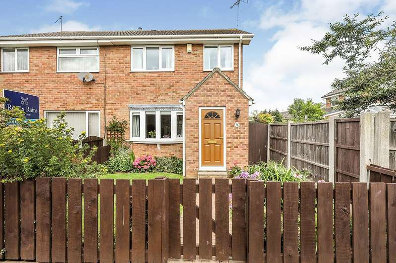 3 Bedrooms Semi Detached House for sale in Thirlmere Drive, North Anston, Sheffield, South Yorkshire, S25