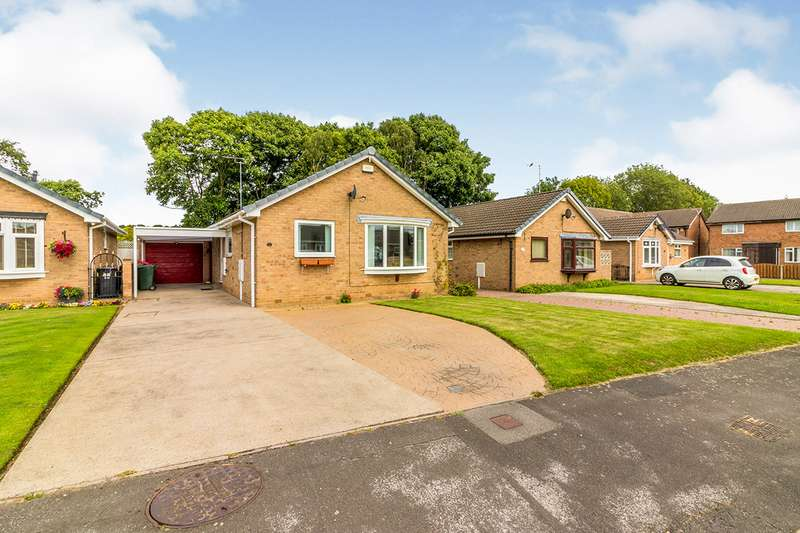 2 Bedrooms Detached Bungalow for sale in Bramley Grange Crescent, Bramley, Rotherham, South Yorkshire, S66