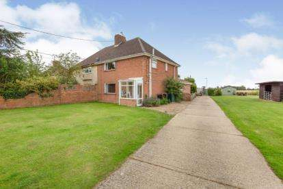 3 Bedrooms Semi Detached House for sale in Monk Soham, Woodbridge, Suffolk