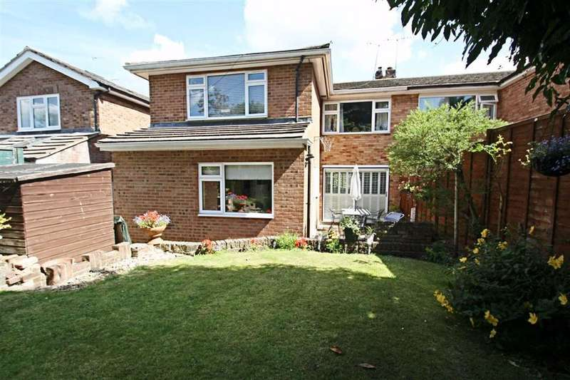 4 Bedrooms Semi Detached House for sale in Coombe Gardens, Berkhamsted, Hertfordshire
