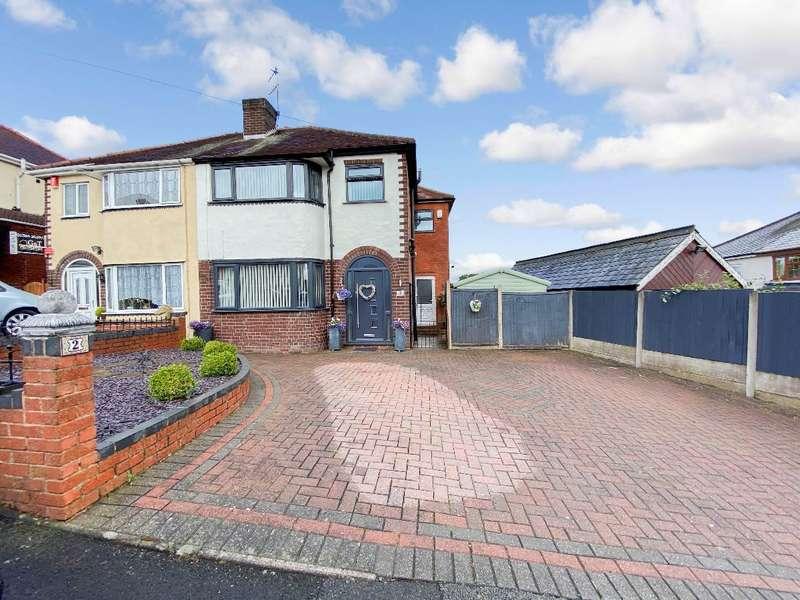 3 Bedrooms Semi Detached House for sale in Corfe Road, Bilston