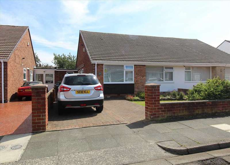 2 Bedrooms Bungalow for sale in Simonside Avenue, Stakeford, Choppington