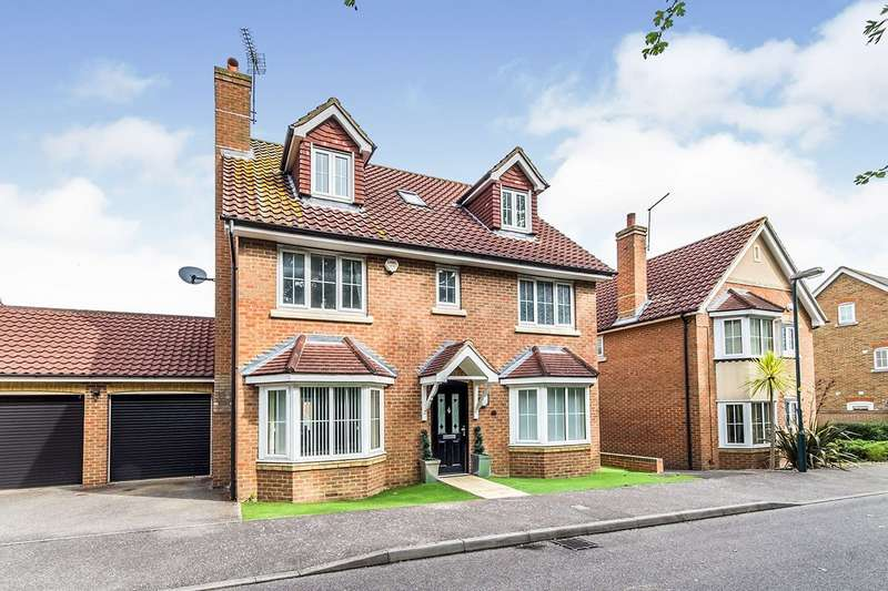 5 Bedrooms Detached House for sale in Olivier Drive, Wainscott, Rochester, Kent, ME3