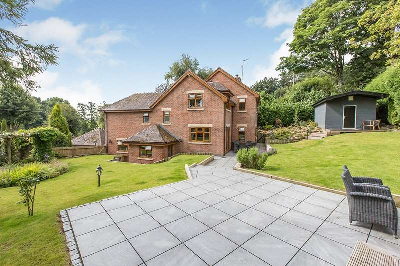4 Bedrooms Detached House for sale in Mill Hill Lane, Sandbach, Cheshire, CW11