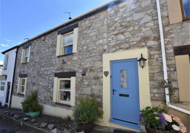 4 Bedrooms Terraced House for sale in The Square, Gunnislake, Cornwall
