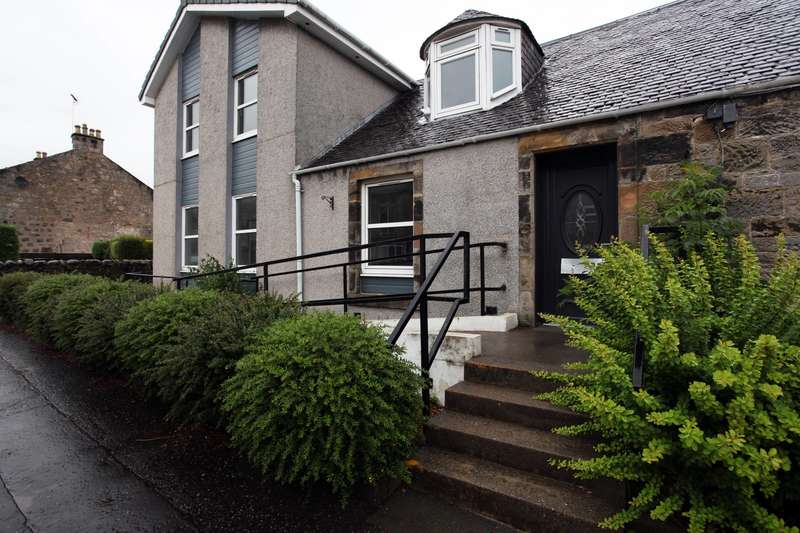 2 Bedrooms Ground Flat for sale in Station Road, Dollar, Clackmannanshire, FK14 7EJ