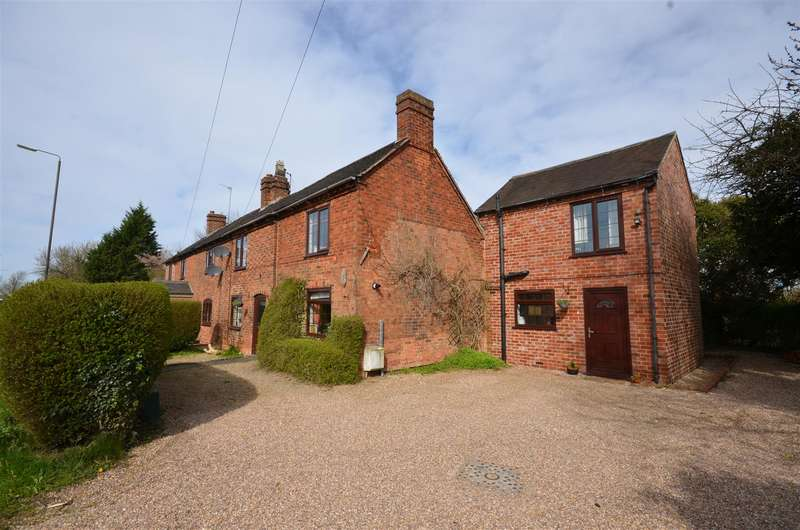 4 Bedrooms Semi Detached House for sale in Uttoxeter Road, Foston, Derby