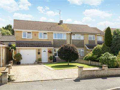 4 Bedrooms Semi Detached House for sale in Robert Franklin Way, South Cerney, Cirencester