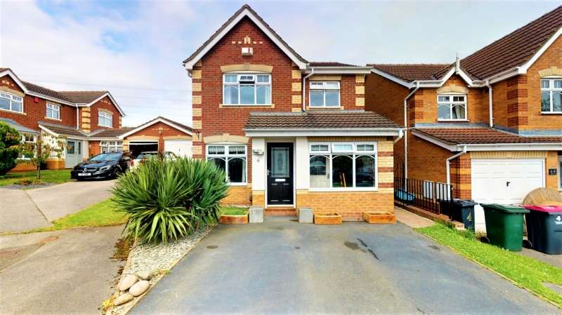 3 Bedrooms Detached House for sale in Dickens Close, Catcliffe, Rotherham