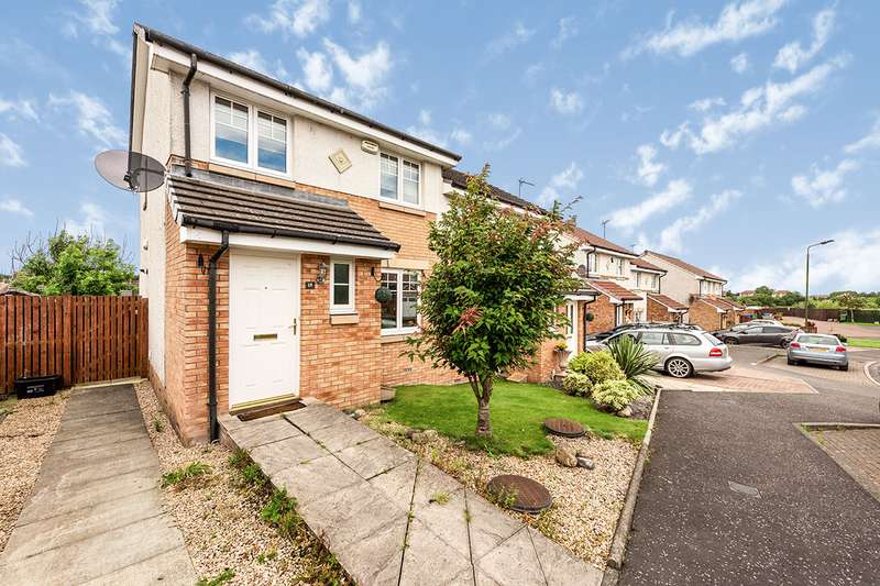 3 Bedrooms Semi Detached House for sale in Ardgay Crescent, Bonnybridge, FK4