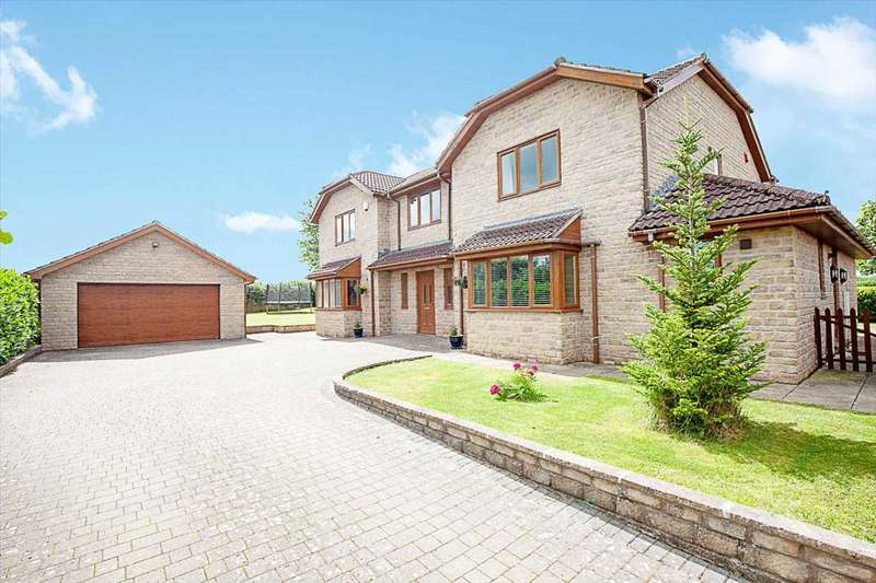 5 Bedrooms Detached House for sale in Meadow Rise, Chilcompton