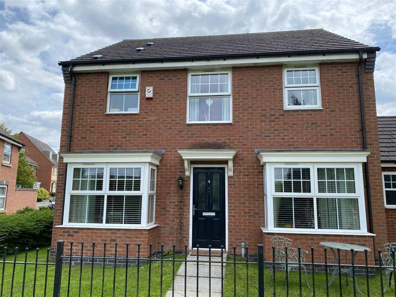 4 Bedrooms Detached House for sale in Percival Way, Groby, Leicester, LE6 0AU