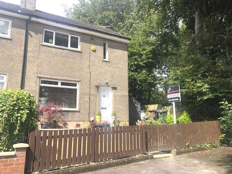 2 Bedrooms Semi Detached House for sale in Loom Walk, Kilbarchan