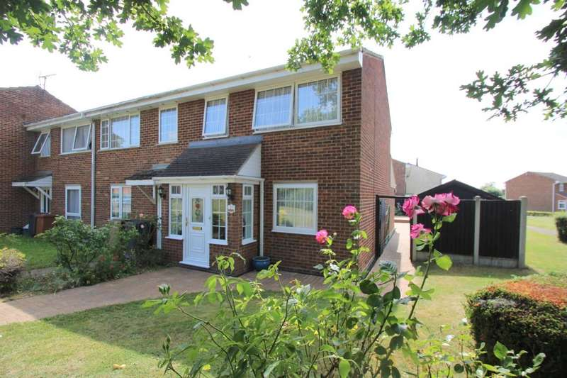 3 Bedrooms End Of Terrace House for sale in Rich Close Great Leighs