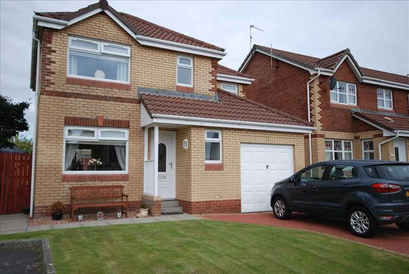 4 Bedrooms Detached House for sale in Murdoch Court, Saltcoats
