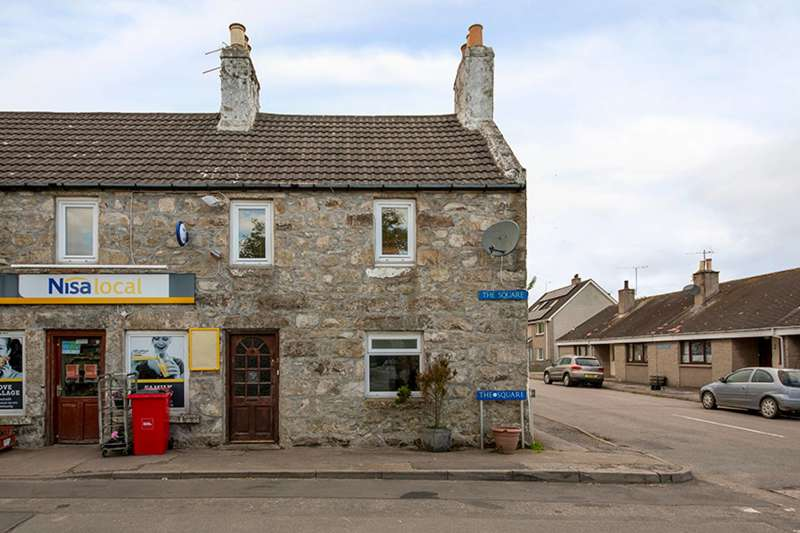 4 Bedrooms Terraced House for sale in The Square, Stuartfield, Aberdeenshire, AB42 5HN