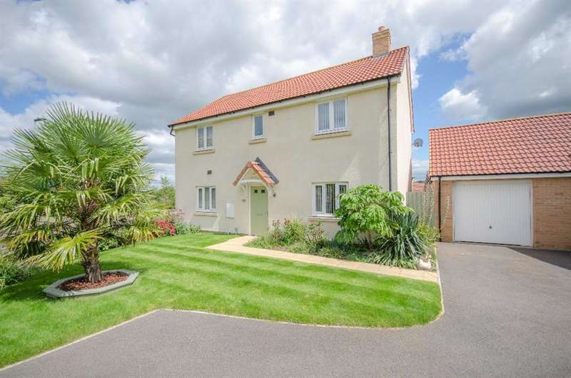 4 Bedrooms Detached House for sale in Pennycress Close, Lyde Green, Bristol, BS16 7GG