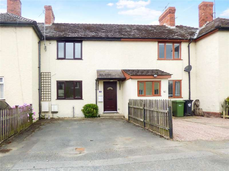 2 Bedrooms Terraced House for sale in 16 Hatton Gardens, Kington, Herefordshire, HR5 3DD