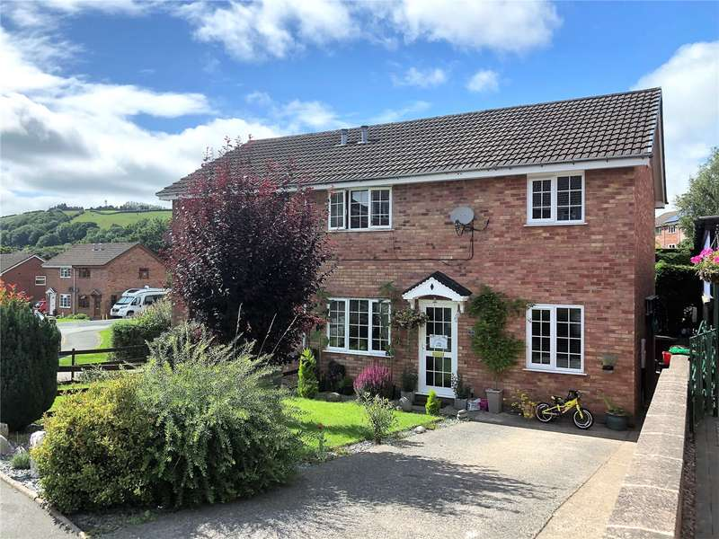 3 Bedrooms Semi Detached House for sale in 95 Sycamore Drive, Newtown, Powys, SY16 2QL