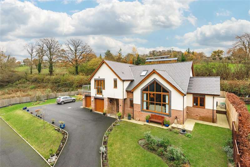 4 Bedrooms Detached House for sale in Llanfair Caereinion, Welshpool, Powys, SY21 9EB