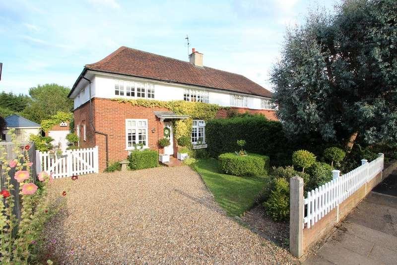 4 Bedrooms Semi Detached House for sale in Gurney Court Road, St Albans, Hertfordshire, AL1 4RJ