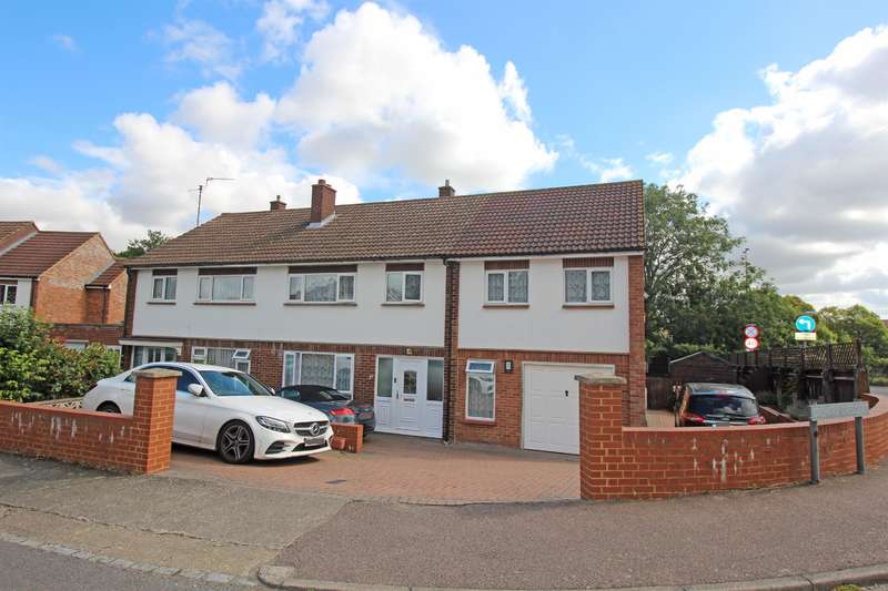 5 Bedrooms Semi Detached House for sale in Orchard Crescent, Stevenage, SG1 3EN