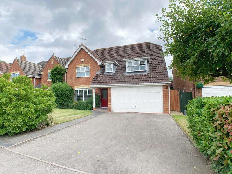 4 Bedrooms Detached House for sale in Imogen Gardens, Heathcote, Warwick