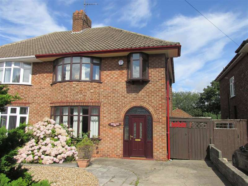 3 Bedrooms Semi Detached House for sale in Hoylake Road, Wirral, Moreton