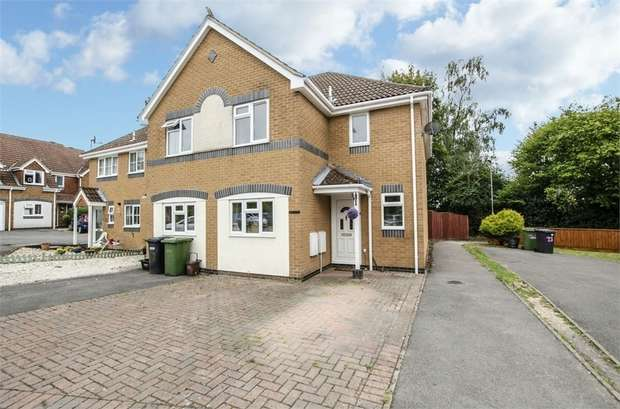 3 Bedrooms Semi Detached House for sale in Stoke Heights, Fair Oak, EASTLEIGH, Hampshire