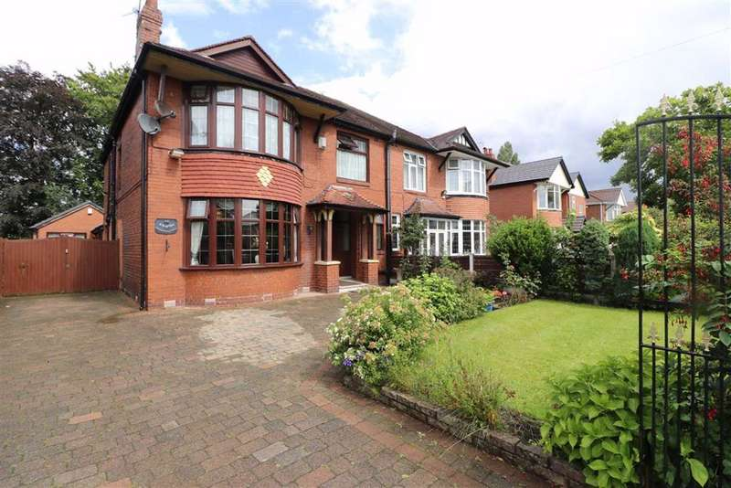 6 Bedrooms Semi Detached House for sale in Wilbraham Road, Chorlton, Manchester, M21