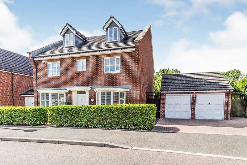 5 Bedrooms Detached House for sale in Galleon Way, Upnor, Rochester, Kent, ME2