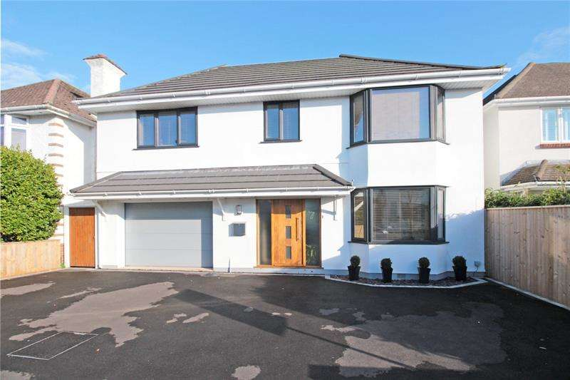 5 Bedrooms Detached House for sale in Wickfield Avenue, Christchurch, Dorset, BH23