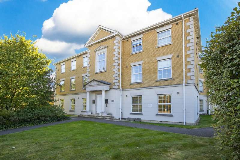 2 Bedrooms Flat for sale in Queen Marys Court, Harrison Road