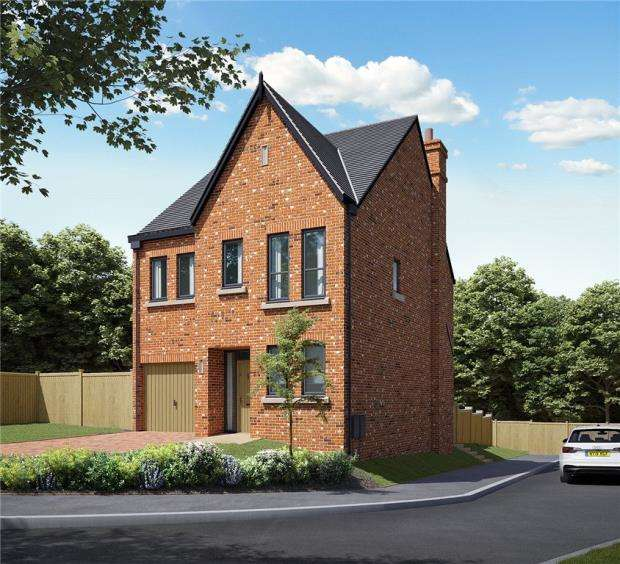 4 Bedrooms Detached House for sale in Station Road, Delamere, Northwich