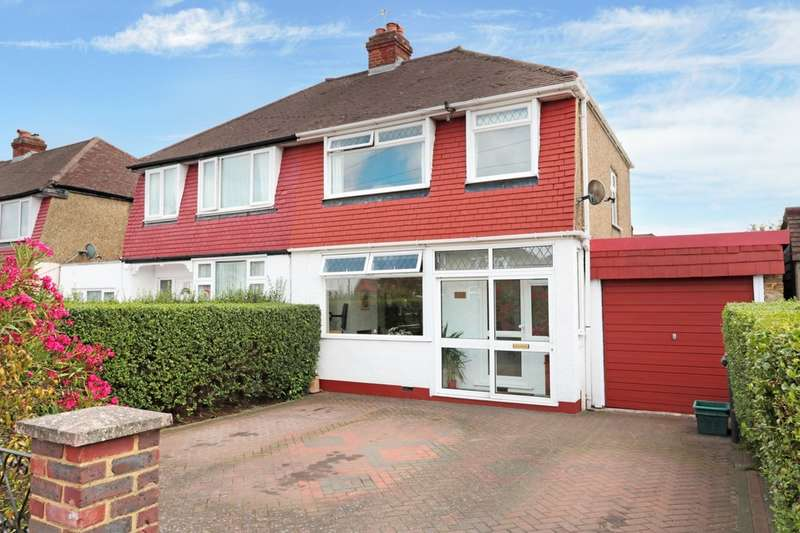 3 Bedrooms Semi Detached House for sale in Cedarcroft Road, Chessington