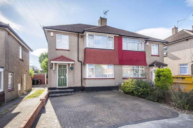3 Bedrooms Semi Detached House for sale in Vicarage Lane, Chalk