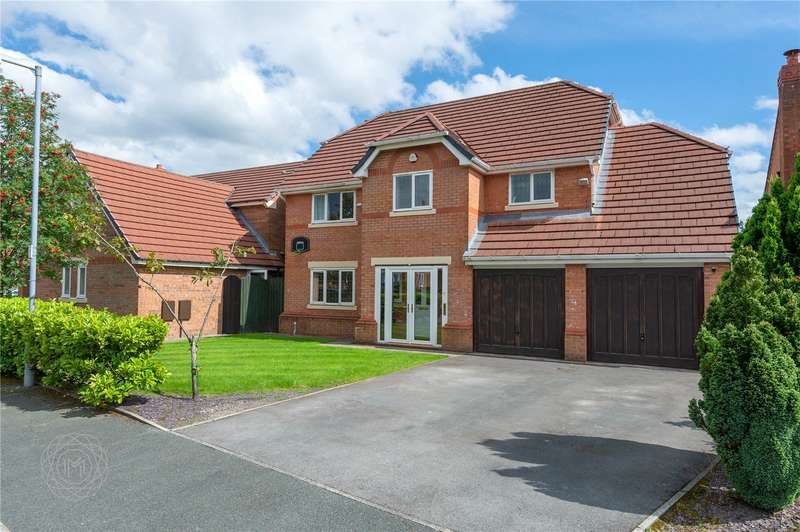 4 Bedrooms Detached House for sale in Waterslea Drive, Bolton, Greater Manchester, BL1