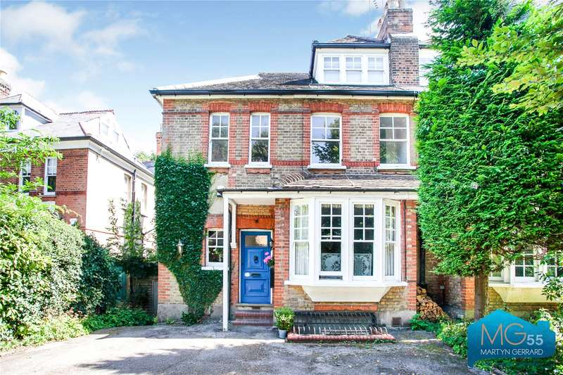 4 Bedrooms Semi Detached House for sale in Hadley Highstone, Barnet, Hertfordshire, EN5