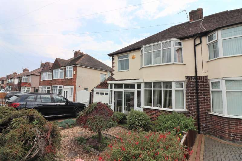 3 Bedrooms Semi Detached House for sale in Leasowe Road, Wirrall, CH462RQ