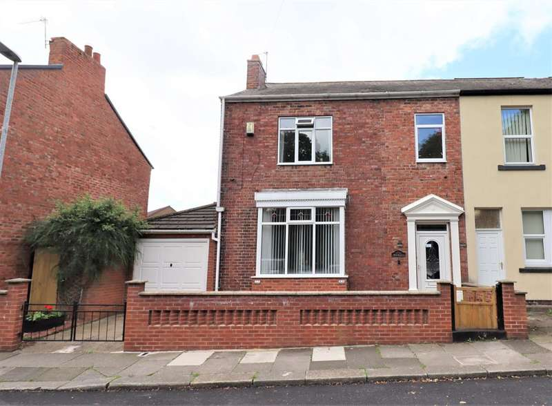 3 Bedrooms End Of Terrace House for sale in Burke Street, Shildon, DL4 1AA