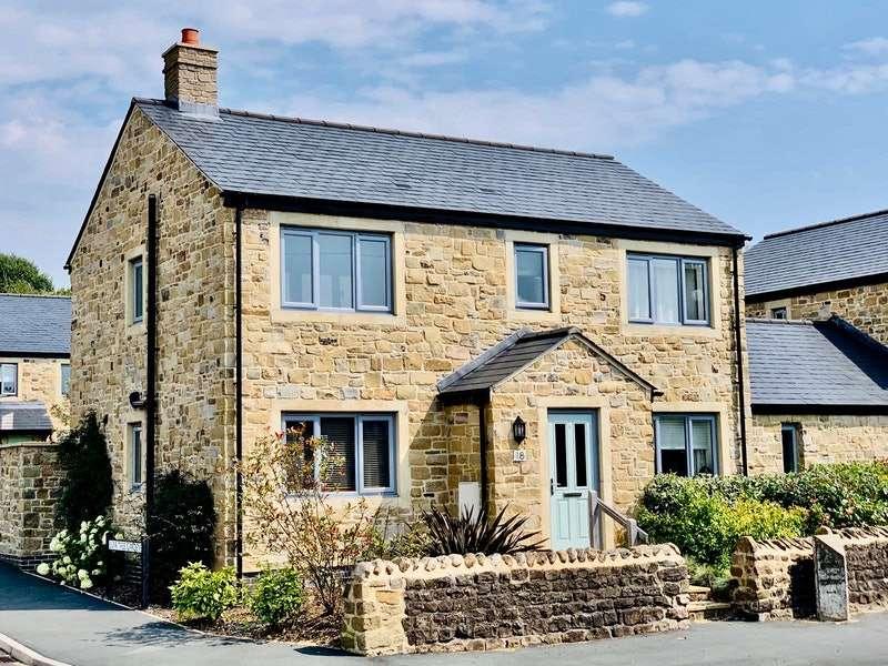4 Bedrooms Detached House for sale in Burr Tree Gardens, Cowan Bridge, Kirkby Lonsdale, Lancashire, LA6