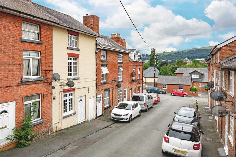 2 Bedrooms Terraced House for sale in 12 Chapel Street, Newtown, Powys, SY16 2BP